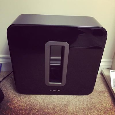 New addition to the family  #sonos #bass #sound #instadaily #beautiful