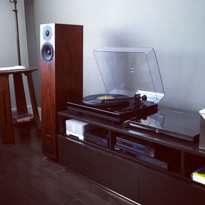 Customers setup using pmc speakers, #devialet 200 and music hall 5.1 turntable. #Sonos is used for multiroom audio around the house. #pmcspeakers #turntable #recordplayer #audiophile #hifi #stereophile #stereo #yyc #audioroomyyc #yycdesign #yycshoplocal #sharecalgary #hiendaudio #yycluxury #highendaudio