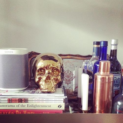 #perfect #welcome #gift #play1 #wireless #speaker #sonos #audio #music #skull #barcart @sonos