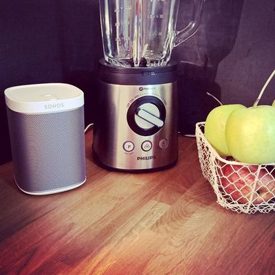Nouvelle Play1 #sonos #kitchen #cuisine #play1 #music #spotify