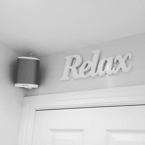 🛀🏼🎼🎶 #sonos #bathtime #relax
