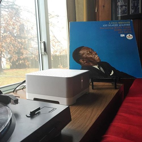 The perfect soundtrack to a lazy morning . #nowspinning #ajazzmessage #mccoytyner #artdavis #impulse #jazz #jazzrecords #vinyl #vinylgram #vinylporn #vinyladdict #vinyligclub #vinyljunkie #vinylcollection #instavinyl #vinylcollector #vinyljunkies #vinylcommunity #sonos #sonosstudio #audioporn #audiophile @sonos