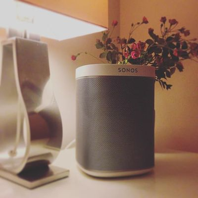The sound quality is insane for such a small speaker. Currently listening to John Mayer. Feels like he's in my bedroom with me. Ooh Err! #Sonos