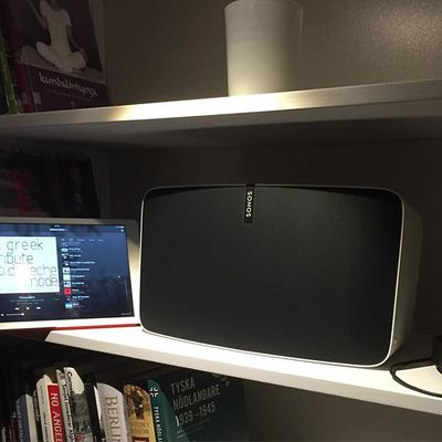 Music quality on all levels! #Sonos#play5 #impressed