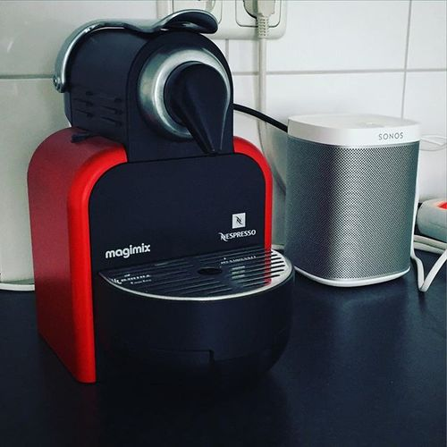 Most #important things in my new #house #coffee #nespresso and #music #sonos
