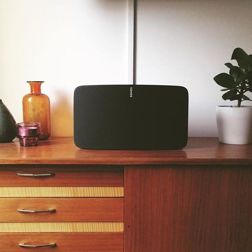 New Baby. #sonos #play5 #speaker #musik #love #sonosplay5 #birthdaypresent #bestsunday #Chilltag