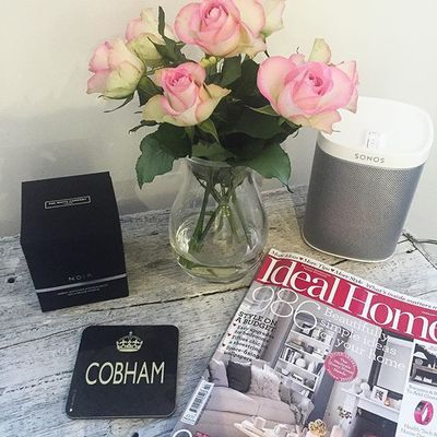 We love these Cobham coasters - only £2.99! Also available in our Wimbledon store 'Wimbledon SW19'. #cobham #surreylife #coasters #evielovestoast #sonos #idealhome #interiors