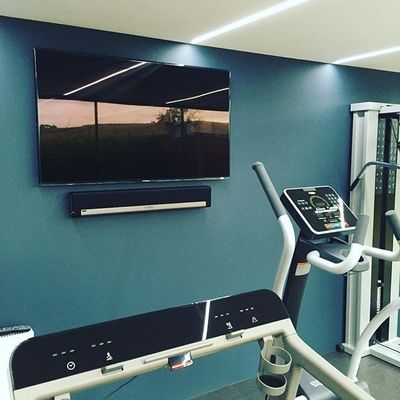 Another good install  #installerlife #tv #samsung #sonos #playbar #boothscotland  #wallmount