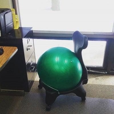 classic balance ball® chair - gaiam