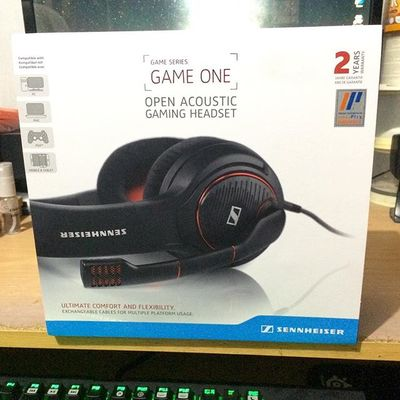 Sennheiser GAME ONE - Gaming Headset PC, Mac, PS4 & Xbox One