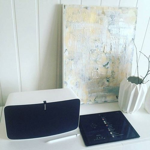 We love #musicmondays with #sonos #apple #ipad #ipadpro #kygo #play5 photo cred @kenmartinn #music #integritysoundsrq