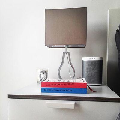 Bedside love #Sonos #play1 #dityque #ambre #mrporter @mrporterlive @sonos #home