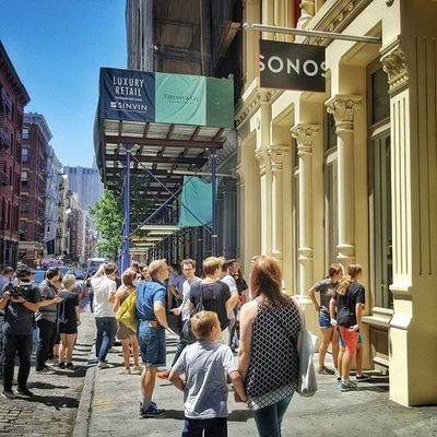 Opening day! #sonosstore #sonos #soho #newyork