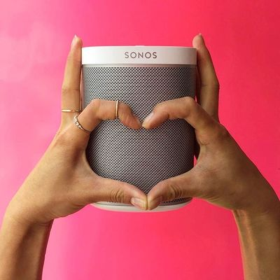 I love music... Every morning I wake up wanting a cup of coffee and a particular song to be played. Coming to work and being able to share my playlist with our Reinventionists is pretty awesome. Congratulations to @sonos on the launch of their in-store experience #SONOSstore in Soho new York today!