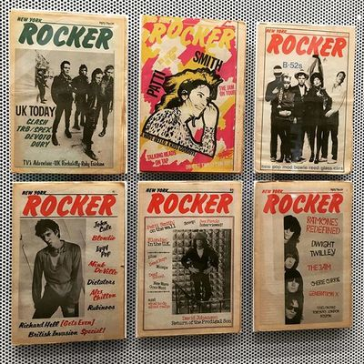 Really cool to see copies of the old New York Rocker on the wall as part of a zine exhibit at the new @sonos store in Soho.  #newyorkrocker #zines #sonos #nyc
