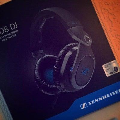 Sennheiser HD8 fülre-fekvő DJ-fejhallgató - Zárt  Passzív zajcsillapítás 7e863a9231