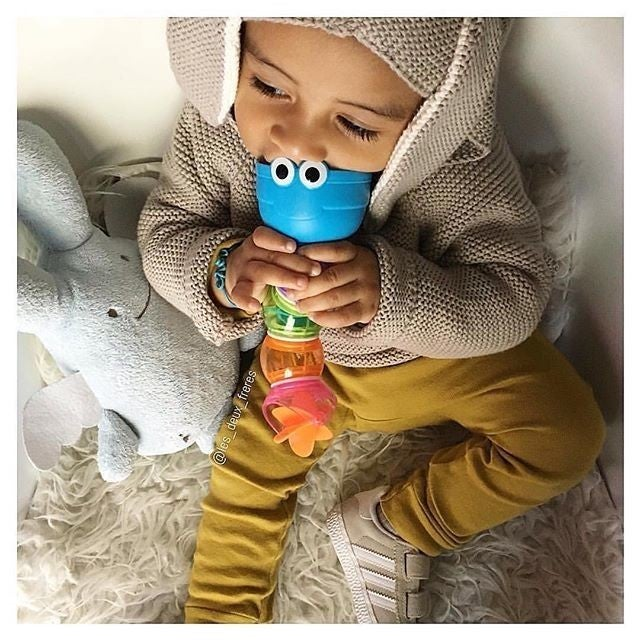 image by munchkin_france containing toddler, toy, finger