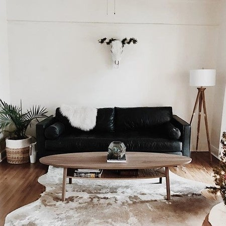 Image By Thetessafrench Containing Furniture, Room, Living Room, Couch,  Table