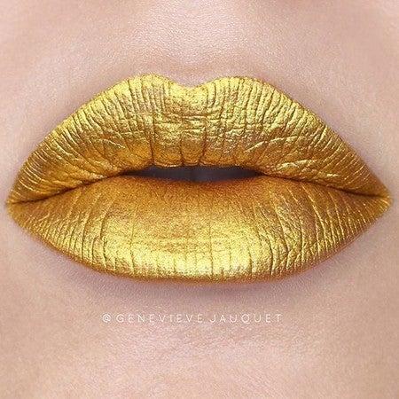 Zenon   Gold Lipstick - Lime Crime