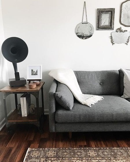Image By Thistle.harvest Containing White, Black, Furniture, Room, Living  Room