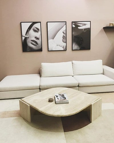 Cube Quartz White Modular Sofa, Right Arm - Sofas - Article