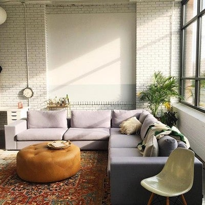 Image By Artfullivingmag Containing Living Room, Room, Wall, Floor,  Furniture