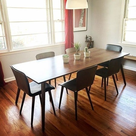 Seno Walnut Dining Table For 8 - Dining Tables - Article | Modern ...
