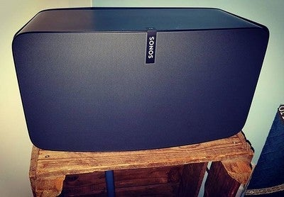 Enjoying the sound of this beast! #sonosplay5 #sonos #play5 #beast #multiroom