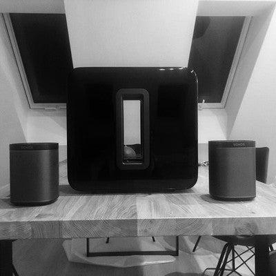 #sonos #play1 #sub #music #interiordesign #interior #loft #gallery #team #homeentertainment #love #lovequotes #instadaily #instagood #potd