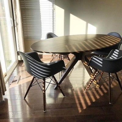 Beautiful Image By Goebelwife23 Containing Furniture, Table, Chair, Room, Floor