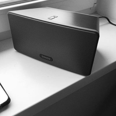 #sonos #play3 #welcometofamily #theonlygoodsystemisasoundsystem #kitchenset