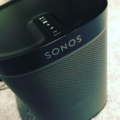 Had to get another one! #3 now! #sonos #play1 #sonosplay1