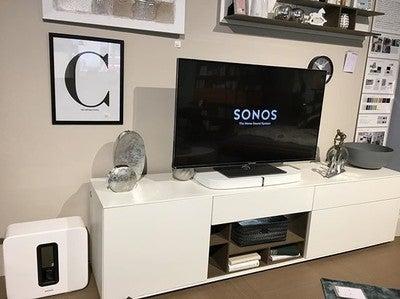 Wir präsentieren euch die Sonos Playbase. Wie gefällt euch unsere #technik im besonderen #ambiente?  Kommt auf ein Käffchen vorbei. Wir hören eure #Lieblingssongs. Ich hab noch ein paar nette Dolby Trailer mitgebracht   #sonos  #playbase #sonoshome #technikambiente #familienunternehmen #aschaffenburg
