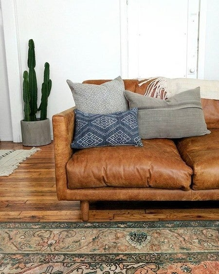Image By Shopsanjunipero Containing Furniture, Living Room, Couch, Floor,  Loveseat