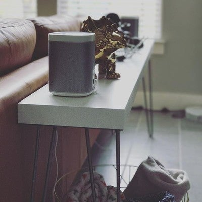 #consoletable #sonos #play1 #surround # #hairpinlegs