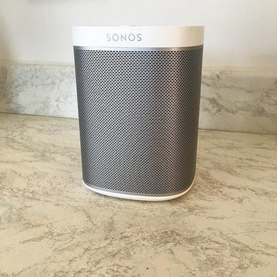 Best Boyf ever!! Lovely surprise after work. Unfortunately we have no internet to set it up though  #sonos #play1 #redrow #redrowhomes #myredrow #newhome #newhouse #newbuild #firsthome #firsttimebuyer #firsttimehomebuyer #taylorwimpey #bovis #persimmon #berkeley #bellway #interior123 #interiordesign #inspo #modern #ivory #turkishmarble #symphonykitchens