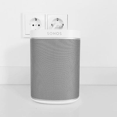 PLAY MUSIC OUT LOUD #sonos #allwhite #play1 #sonosspeakers #sonosaudio #soundsystem #lautsprecher #speaker #sonosplay1