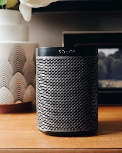 Mini but Mighty Home Speaker  #Sonos #Play1 #sonoshome  Available at .life #dotlife #dotlifestore