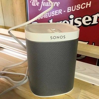 Ny lyd i værkstedet Tak til @bertelsen2705 for konsulentbistand #sonos #play1 #manshed