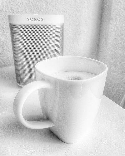 Start in den Tag mit #kaffee und #musik  #GutenMorgen #goodmorning #coffee #coffeetweet #coffeeaddict #instacoffee #needcoffeenow #nespresso #lattemacchiato #coffeeinthemorning #sonos #play1
