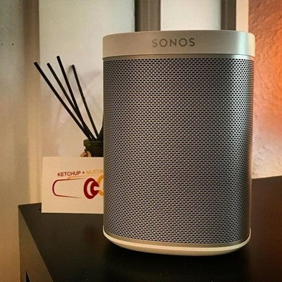 4 designers + 2 separate rooms = sound upgrade.  So glad we added a couple of these @sonos Play 1 speakers to the studio.  #sonos #play1 #whydidwewaitsolong