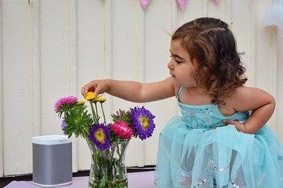 Inte ens den vackraste blomman är så vacker som du  @jiyansuleiman @sonos #love #kids #beutiful #sonos #play1