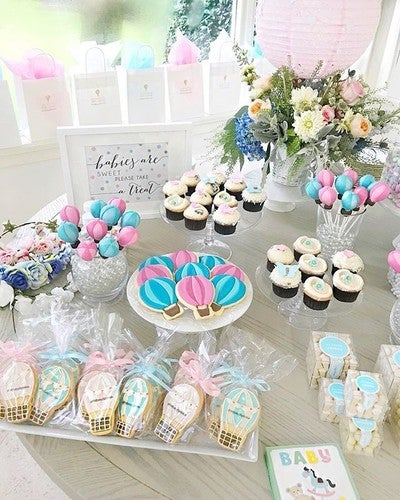 Shop wedding favors baby shower favors more beau coup image by fashionablehostess containing cake decorating icing buttercream sweetness baby shower negle Images