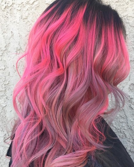 Image By Limecrimemakeup Containing Hair Pink Human Color Purple Wig