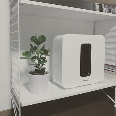 #sonossub got company from plant. @sonos #plants
