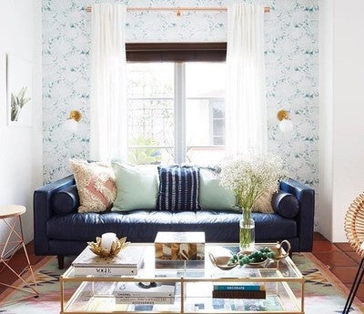 image by containing living room blue room furniture interior design
