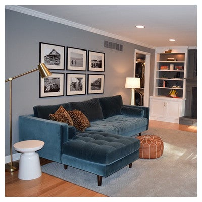 Image By Rachelclarkdesigns Containing Furniture, Living Room, Couch, Wall,  Interior Design