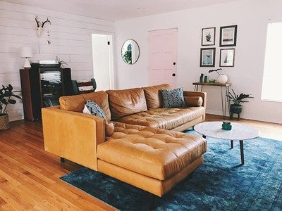 Image By Sweetjuniperhome Containing Living Room, Furniture, Couch,  Property, Room