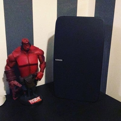 Perfectmatch #sonos #shotoniphone #apple #play5 #hellboy  #hashtag #möpmöp #uiuiui