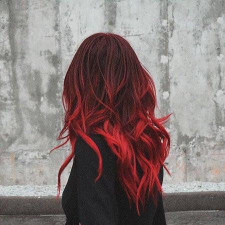 Valentine Bright Red Vegan Semi Permanent Hair Dye Lime Crime
